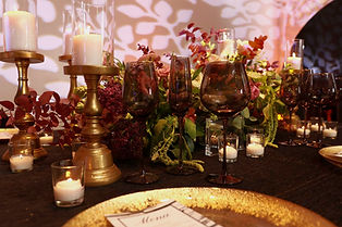 table setting for events, wedding, party, shower, dinner