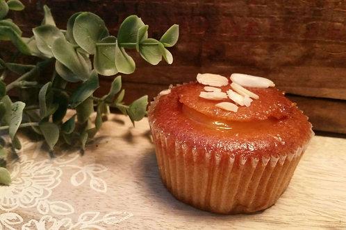 Lemon & Almond Cake with Lemon Curd