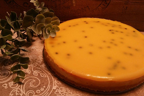 Baked Passionfruit Cheesecake