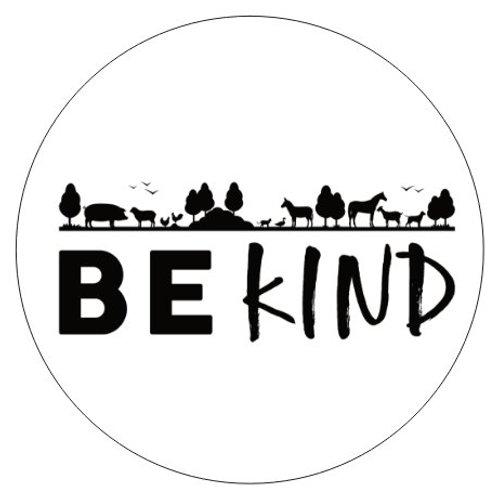 3x3 Sticker - Be Kind