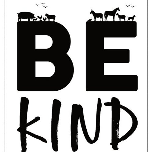 4x3 Sticker - Be Kind