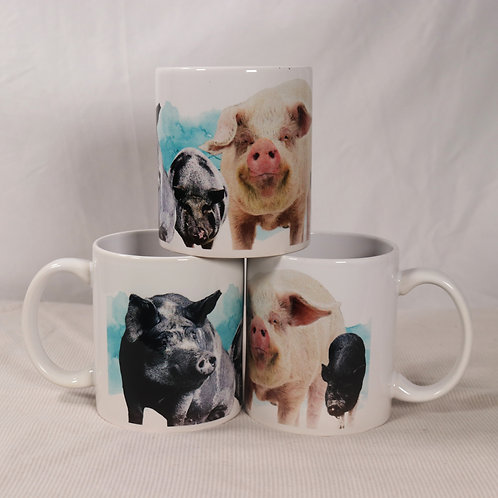 FARRM Mug - Featuring our FARRM Pigs