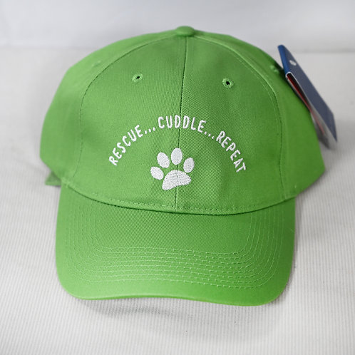 "Hat ""Rescue Cuddle Repeat"" - 8 color options"
