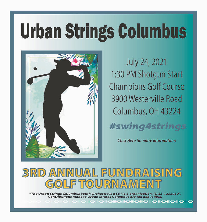 2021 Urban Strings Golf Tournament - for