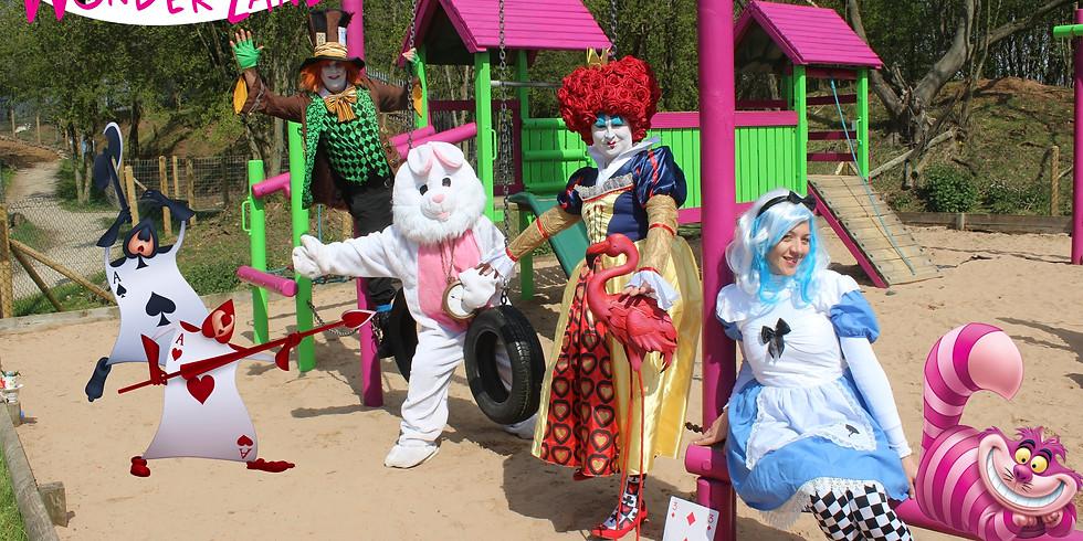 15th April Alice in wonderland Easter egg hunt