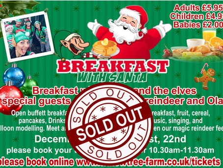 Breakfast is now sold out