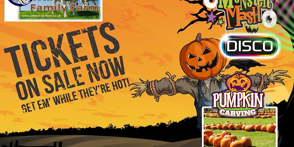 19th oct Halloween spook farm
