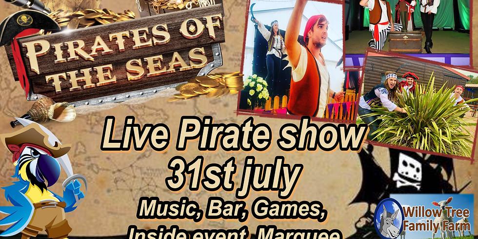 Pirates of the seas show