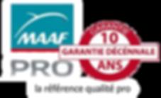 MAFF Pro Garantie Decennale de vos travaux de toiture de votre artisan charpentier à Aix