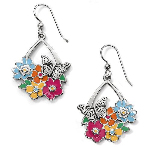 Brighton Enchanted Flower Garden French Wire Earrings