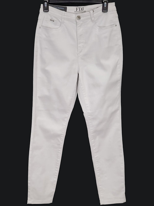 FDJ White Denim Pants