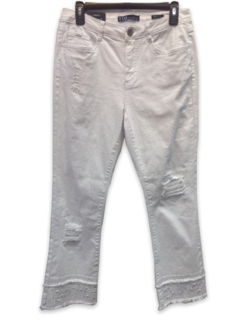 FDJ White Capri Jeans