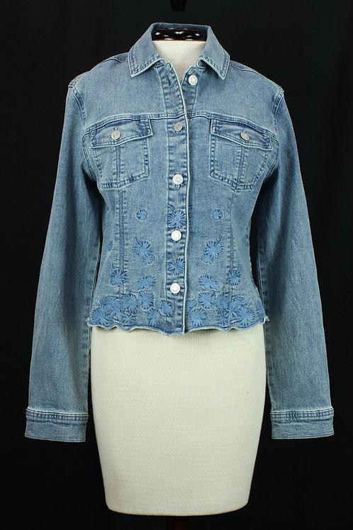 Charlie B Denim Embroidery Jacket