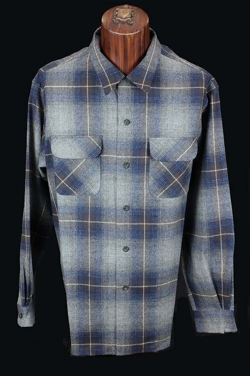 Pendleton Board Shirt Shades of Blue