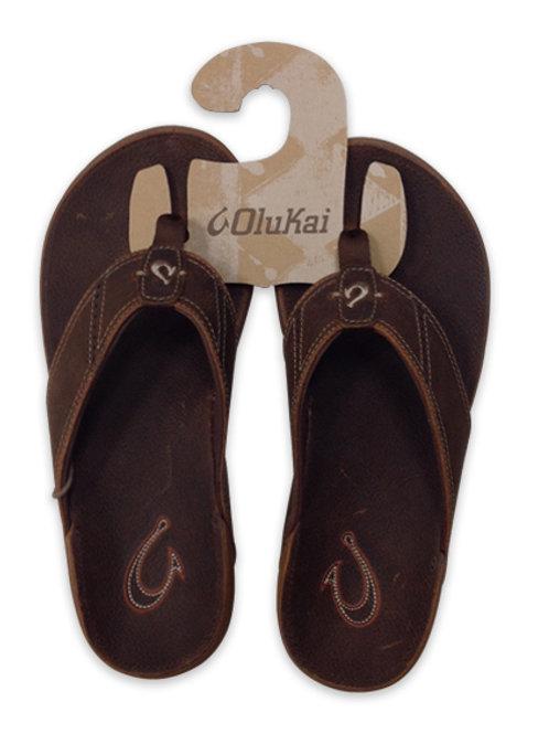 Men's Olukai Brown Sandals
