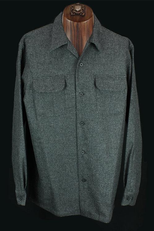 Pendleton Board Shirt Grey#28347 Regular Fit