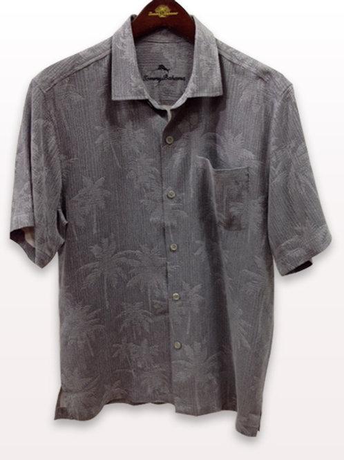 Tommy Bahama Grey Palm Shirt