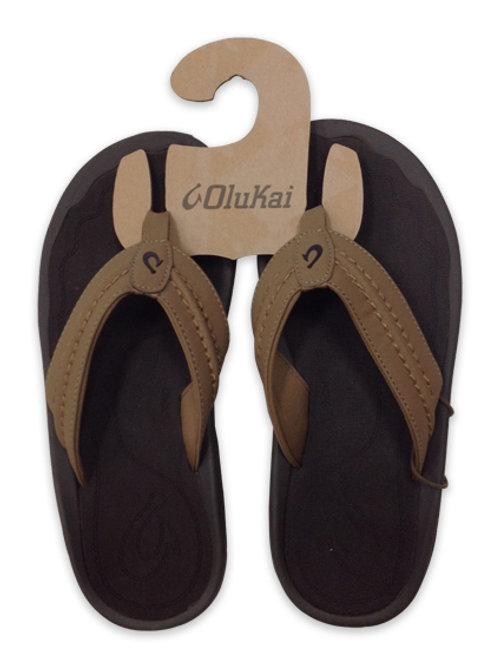 Men's Olukai Soft Brown Sandals