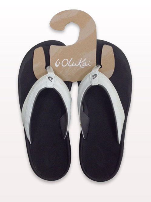 Women's Olukai White Sandals