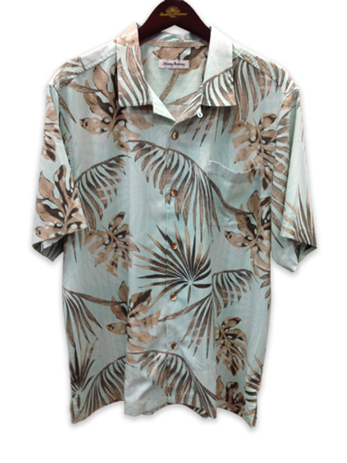 Tommy Bahama Brown Palm Shirt