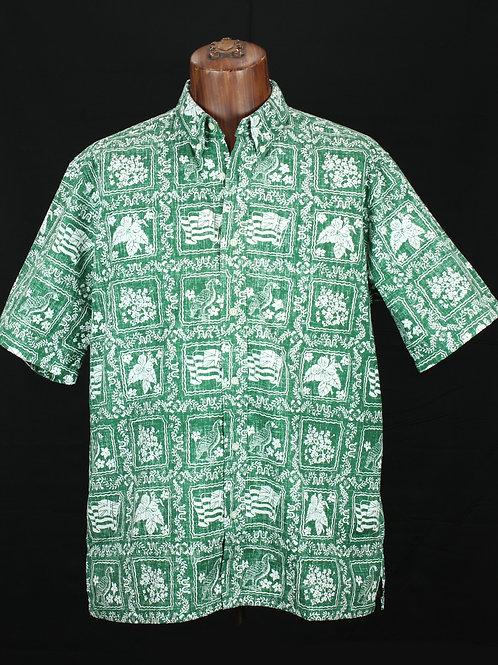 Reyn Spooner Shirt, Spooner Cloth, Reg. fit