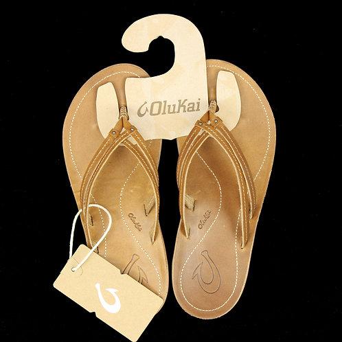 Olukai Leather Beach Sandals