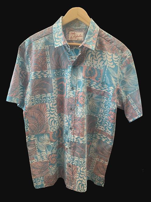 Kahala Local Grown Aqua Shirt