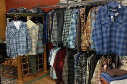 Pendleton Section in Store