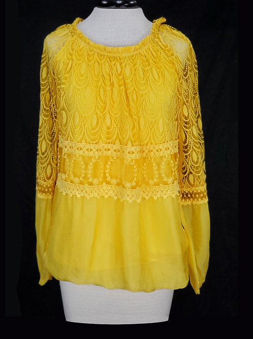 Charlie B Yellow Blouse