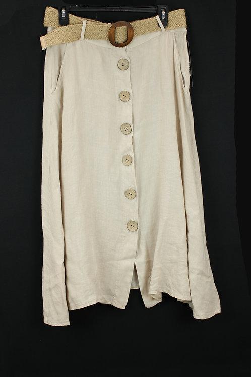 Charlie B Khaki Skirt