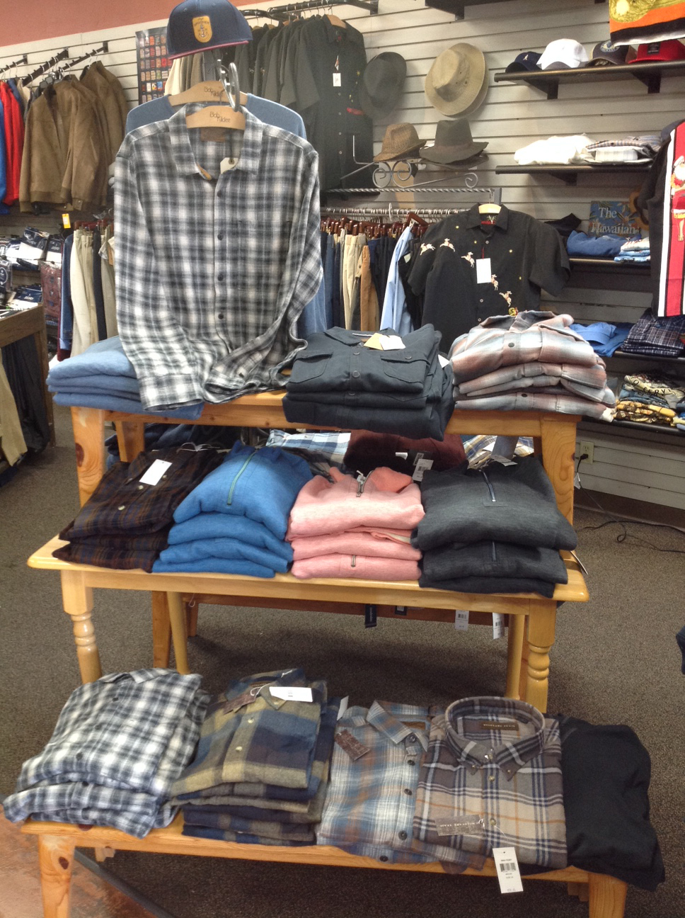 Mens Fall Display