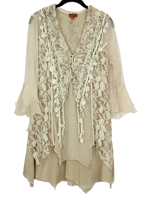 Scully Cream Lace Blouse