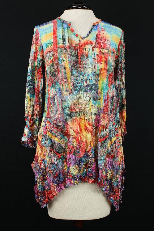 Carine Colorful Blouse