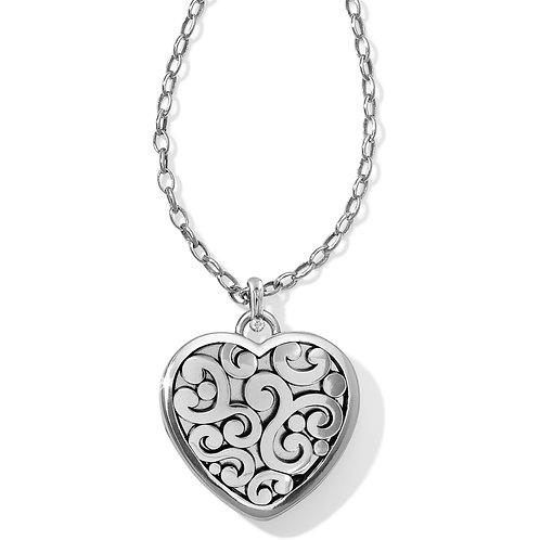 Brighton Contempo Convertible Locket Necklace