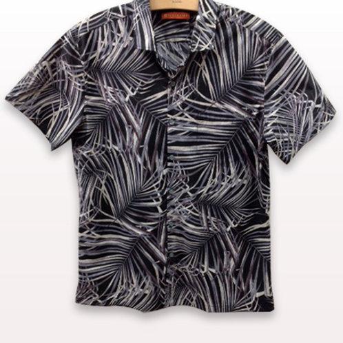 Tori Richards Kentia Palm Shirt. Fitted.