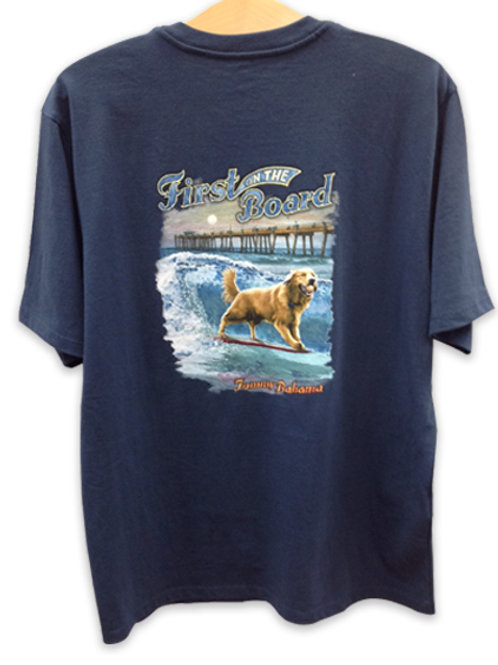 "Tommy Bahama T-Shirt ""First on the Board"""