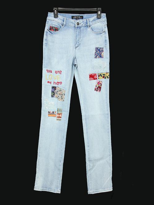 Charlie B Patchwork Jeans