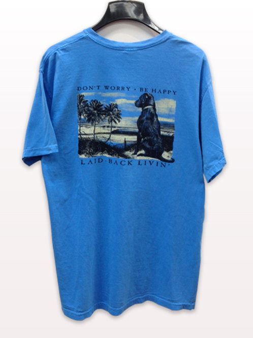 Laid Back Blue T-Shirt