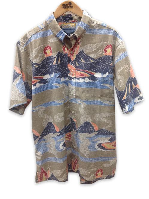 Reyn Spooner Hawaii Volcanoes, National Park series, Spooner cloth