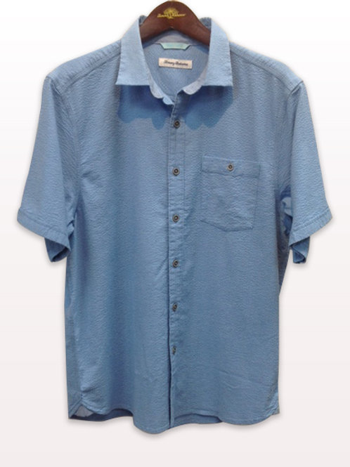 Tommy Bahama Blue Texture Shirt