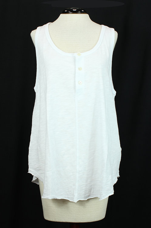 Dylan Sleeveless White Top
