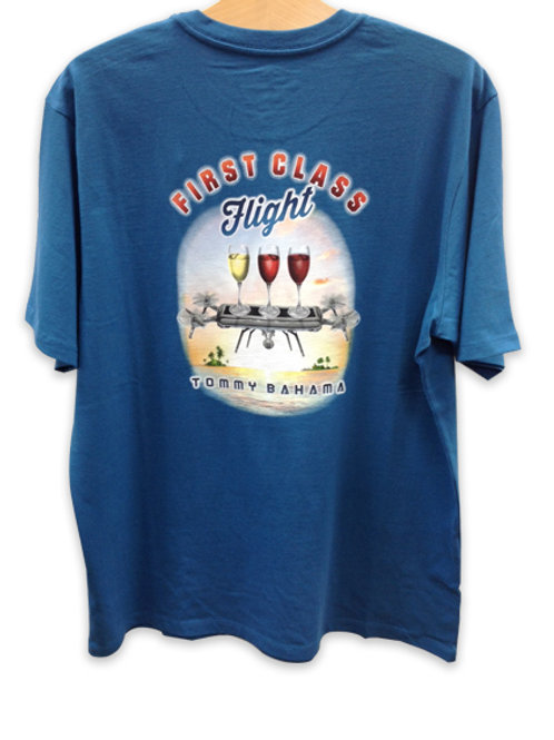"Tommy Bahama T-Shirt ""First Class Flight"""