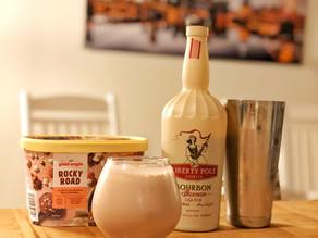 Boozy Rocky Road Milkshake