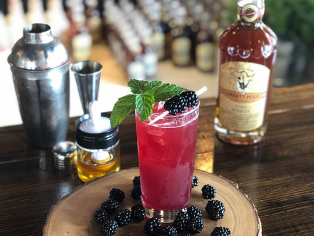 Blackberry and Honey Highball