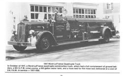 1947 Ward-LaFrance Quadruple Truck