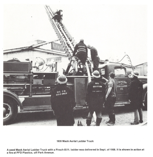1938 Mack Aerial Ladder Truck