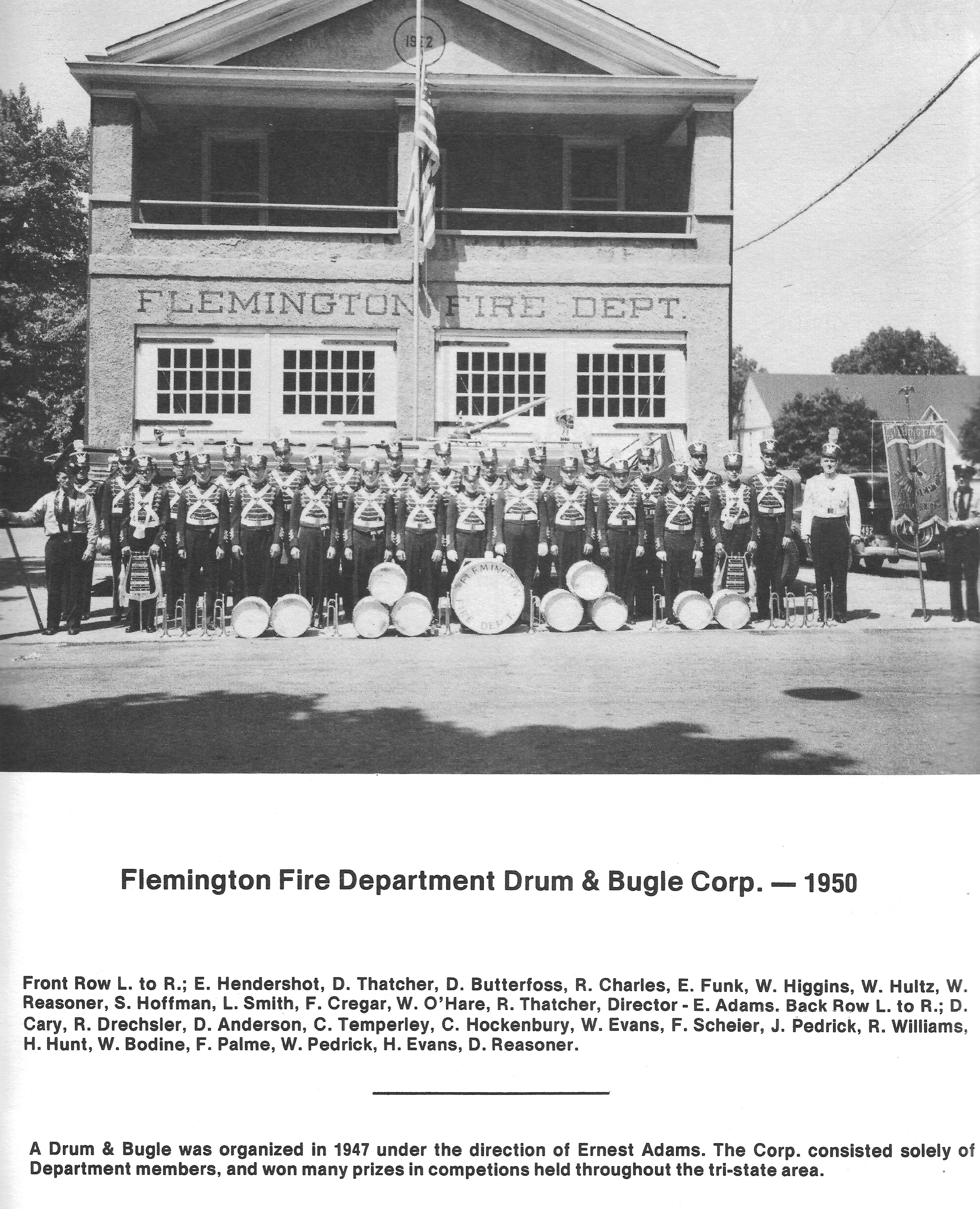 FFD band 1950's