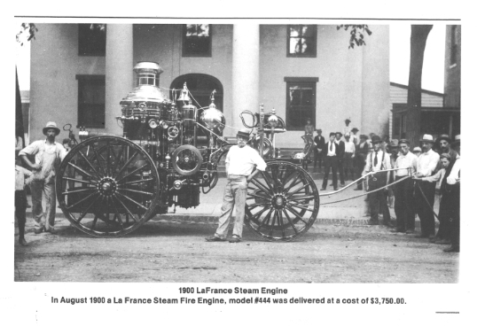 1900 LaFrance Steam Engine