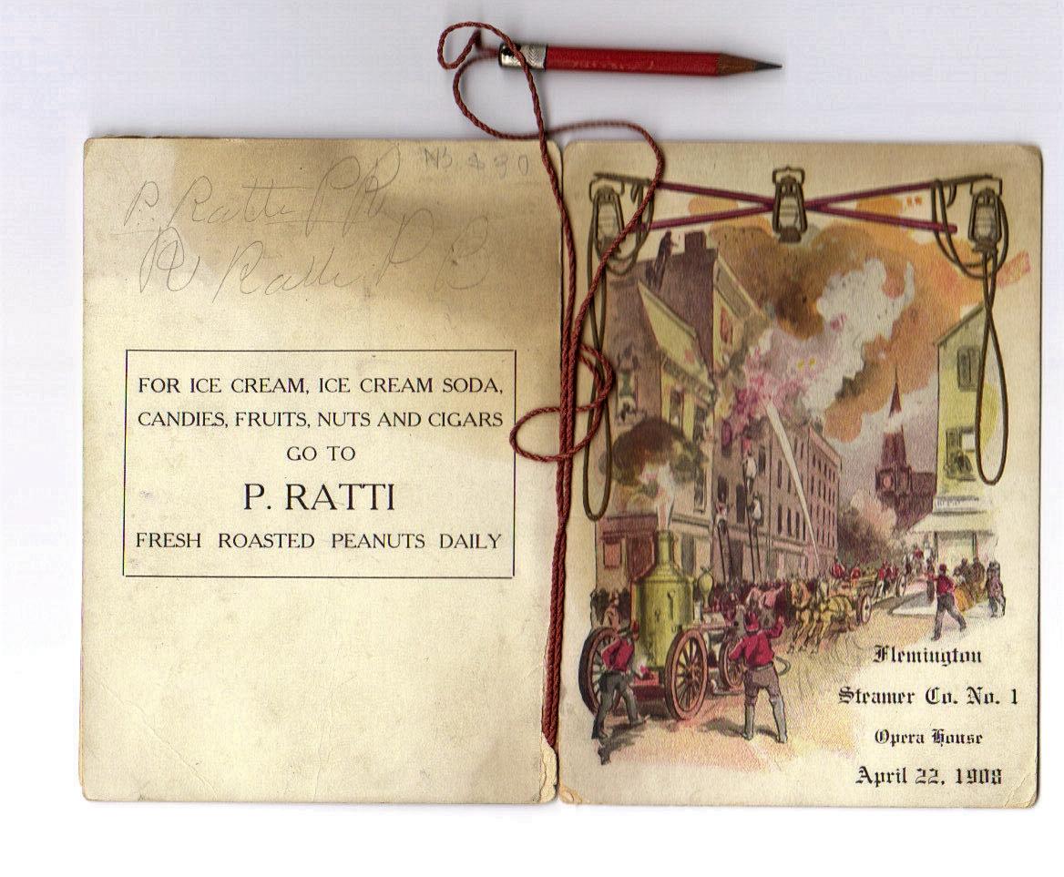 1908 Dance Card 2A