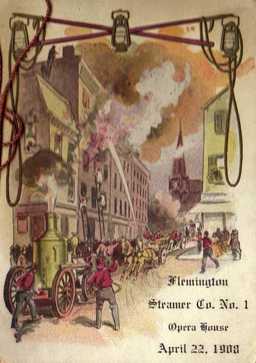1908 Dance Card